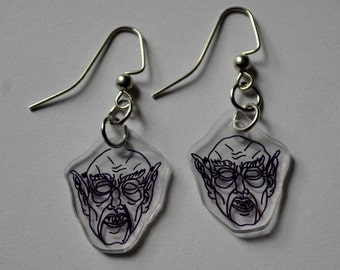 Nosferatu Earrings