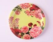 "Julia Sugarbaker - 9"" Floral Paper Plates (10)"