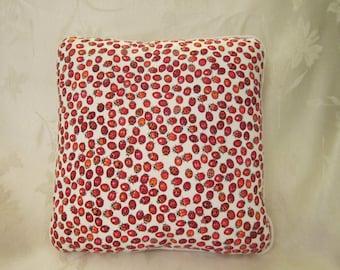 Ladybug novelty pillow, 12x12
