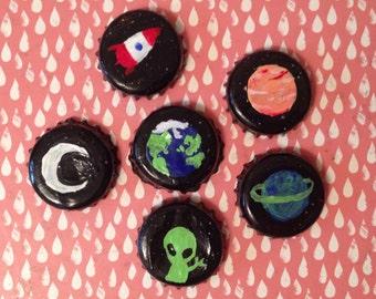 Space Bottlecaps