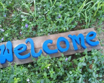 Welcome! - Home Decor Sign - Letters - High Quality
