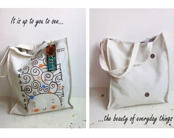 Spotty Bag - It is up to you to see the beauty of everyday things