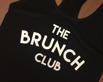 The Brunch Club tank