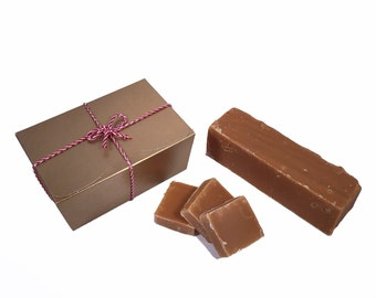 Malt Whiskey Handmade Fudge 300g Gift Box