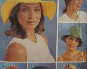 PATTERN BUTTERICK 3798 hats