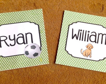 Personalized Enclosure Cards