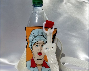 I Love Lucy Insulated Water Bottle Sling
