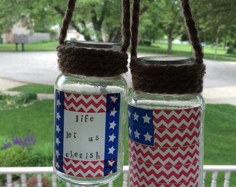 Patriotic Candleholders