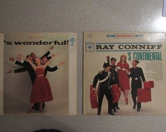 Ray Conniff Vintage Record Collection from the 50s, 60s, & 70s