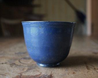 Teacup //  blue  // ceramic // stoneware