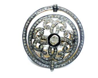 Rosecut Natural Diamond Ring