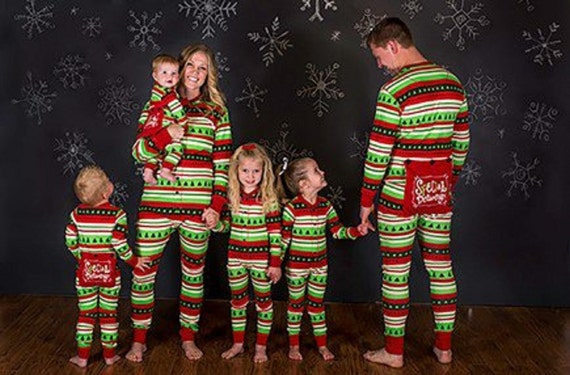 Such fun family pajamas for Christmas