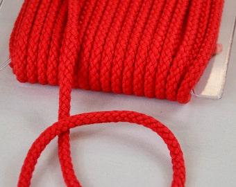 Cord 8mm Red