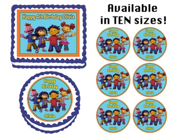 Sid the Science Kid Edible Birthday  Cake Cupcake Cookie Topper Party Decoration Icing Sheets