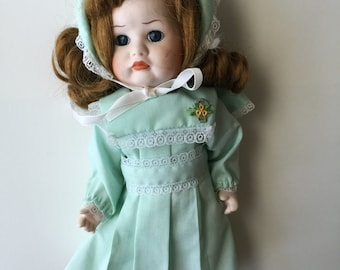 Vintage Hopechest Heirloom Doll-Porcelain Victorian Girl
