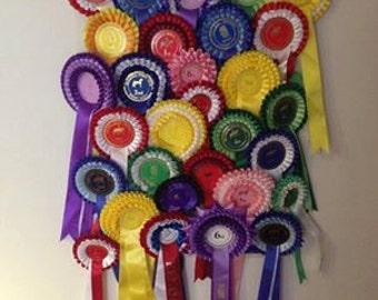 Personalised Handmade Rosette Hanger