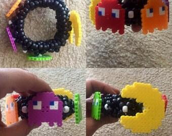 Pac Man Kandi Cuff Mini 3D