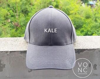 KALE Baseball Hat Embroidery Hat Fashion Hipster Cap Cotton Cap Pinterest Instagram Tumblr