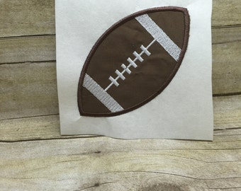 Football Applique, Football Applique Embroidery Design
