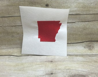 Arkansas Solid Embroidery Design
