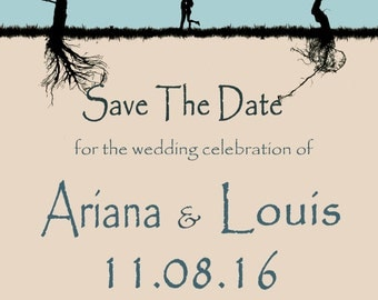 Save the Date...Roots in Love - PRINTED