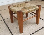 Oak Arts and Crafts Footstool Vintage 1910-1930 Fully Restored