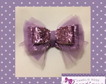 Shabby Sparkle Chic Bow