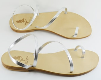 Custom Leather Sandals | 100% leather thong Sandals artisanal Handmade in Italy