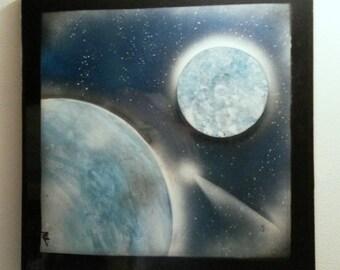 BLUE SPACE 20 X 20