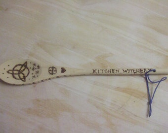 "Owl ""Kitchen Witch"" Spoon"