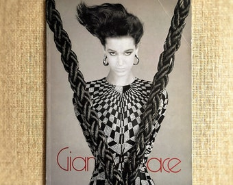 Very Rare Vintage 1986/87 VERSACE Couture Catalog, Photos by Richard Avedon