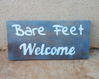Bare Feet Welcome