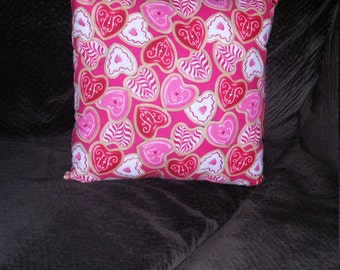 Valentine's day decorative pillow