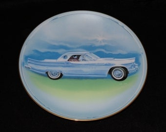 "1984 Hackett American Milestone Automobile Era ""'57 Thunderbird"" Collector Plate by Carl Pope"