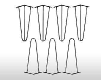 4 x hairpin legs legs leg 30 cm hair pin legs mid century table