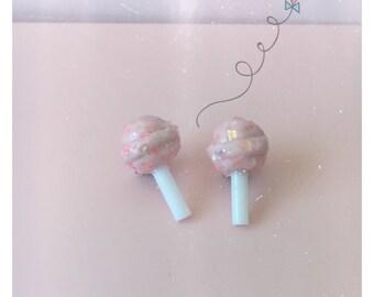 Lollypop earrings