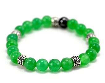 Womens Bracelet Green,Jasper Bracelet Womens,Gemstone Bracelet,Green Jasper Bracelet,Green Womens Bracelet,Womens Green Beaded Bracelet,Gift