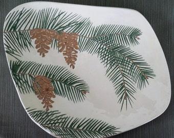 Pine Cone Platter