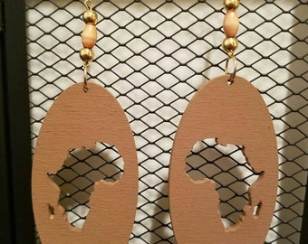 Lightweight Wood Earrings