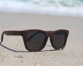 Bamboo Sunglasses - Polarized - Float - 100% Bamboo - Woody Frames - Boozers