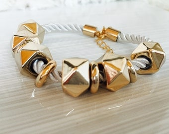Rope and Charm Beads bracelet