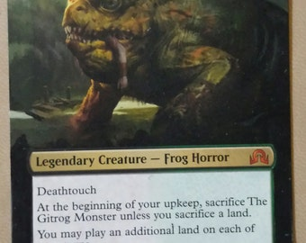 Gitrog Monster borderless alter