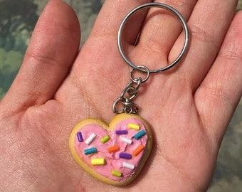 Sugar Cookie Keychain