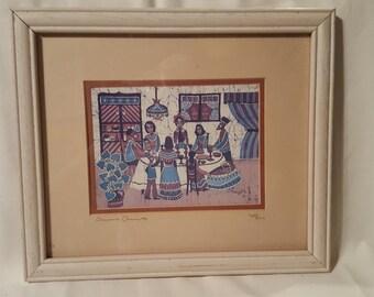 Jewish Art Shabbath vintage art