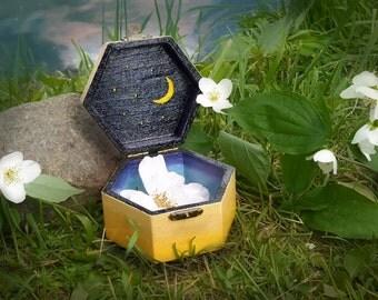 Casket box for jewelry
