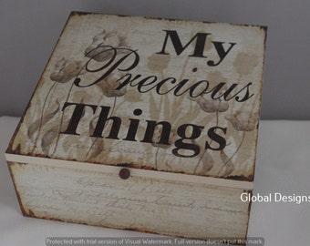 Memory Box Friendship Keepsake My Precious Things sg1945