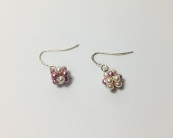 Glowing berries earrings