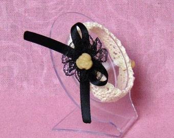 Classic Lolita Crochet Bracelet