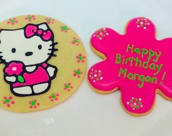 Hello Kitty Cookie Favors - Set of 6