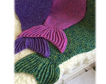 Pattern for Crocheted Mermaid Tail